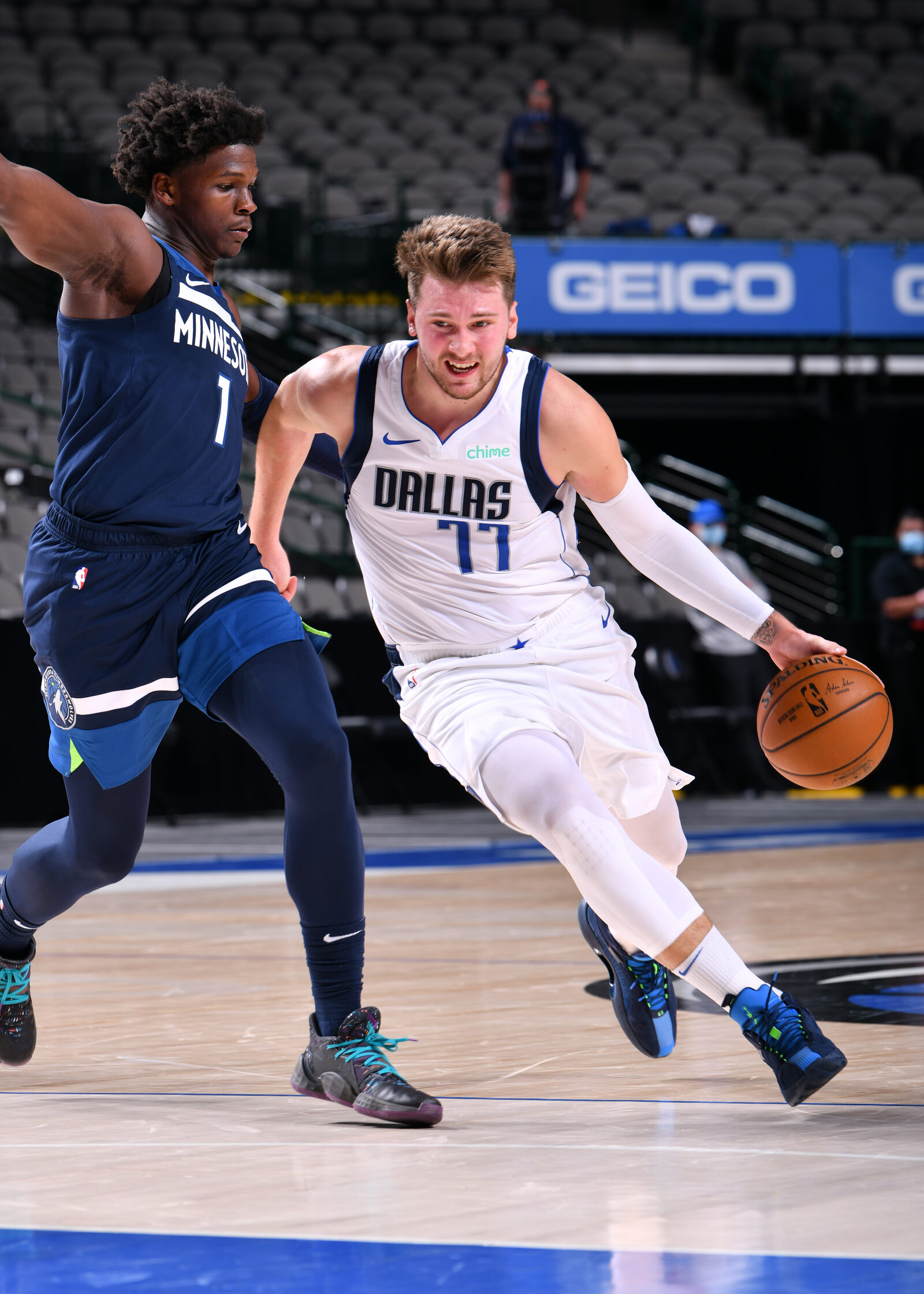 Doncic drives
