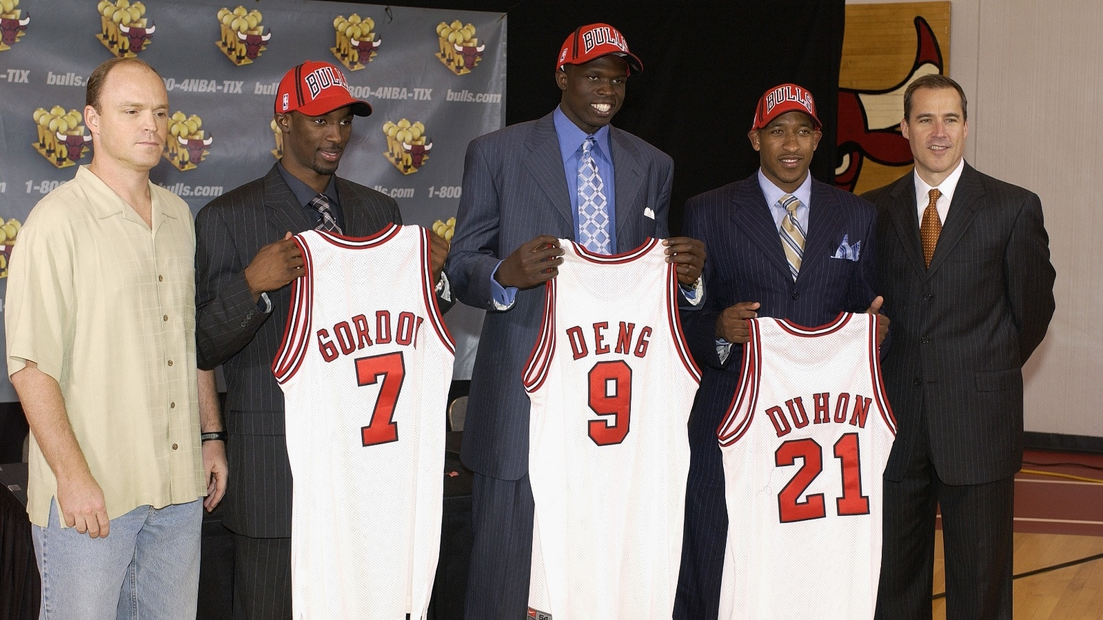 2004 NBA Draft: Ben Gordon and Luol Deng