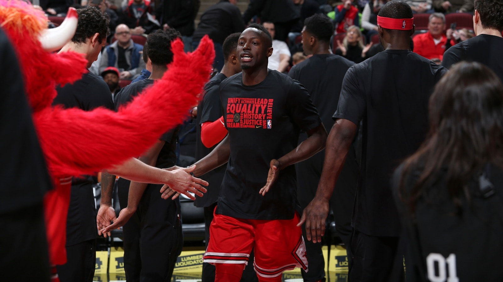 Jerian Grant announced from the starting lineup at the United Center