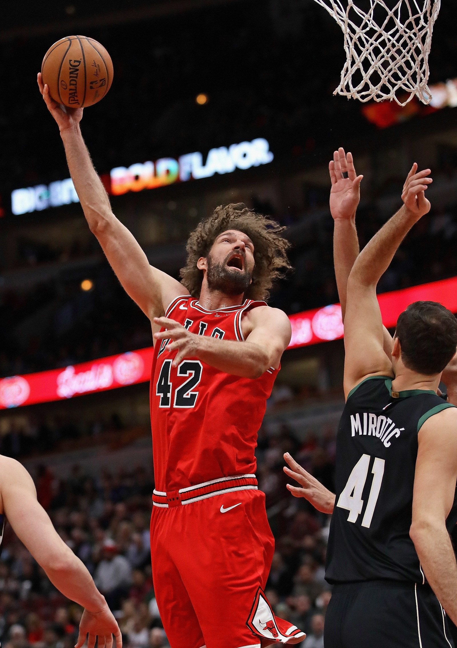 Robin Lopez hook shot