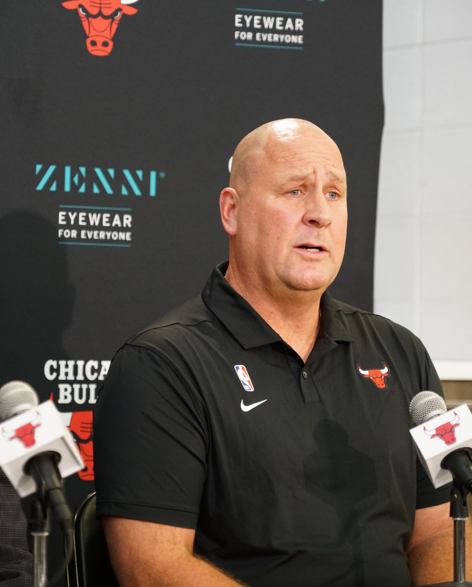 2019 Bulls Media Day: Jim Boylen