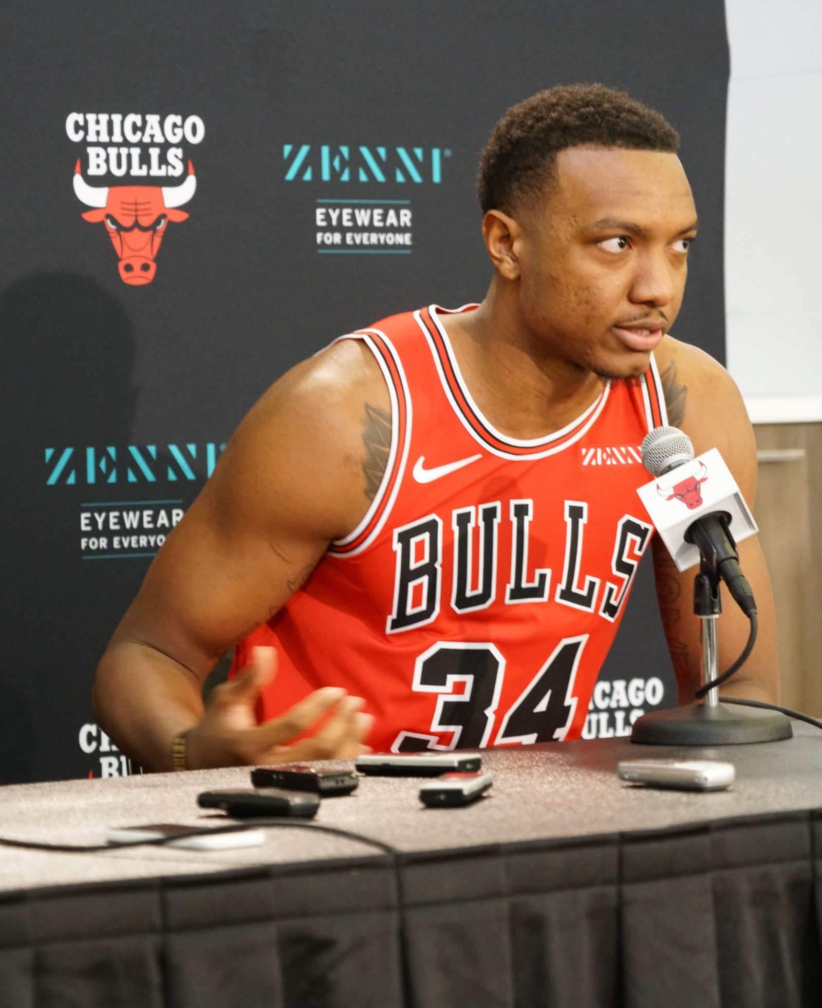 2019 Bulls Media Day: Wendell Carter Jr.