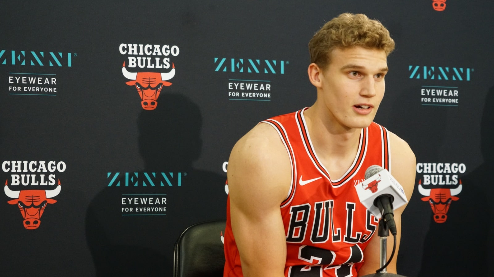 2019 Bulls Media Day: Lauri Markkanen