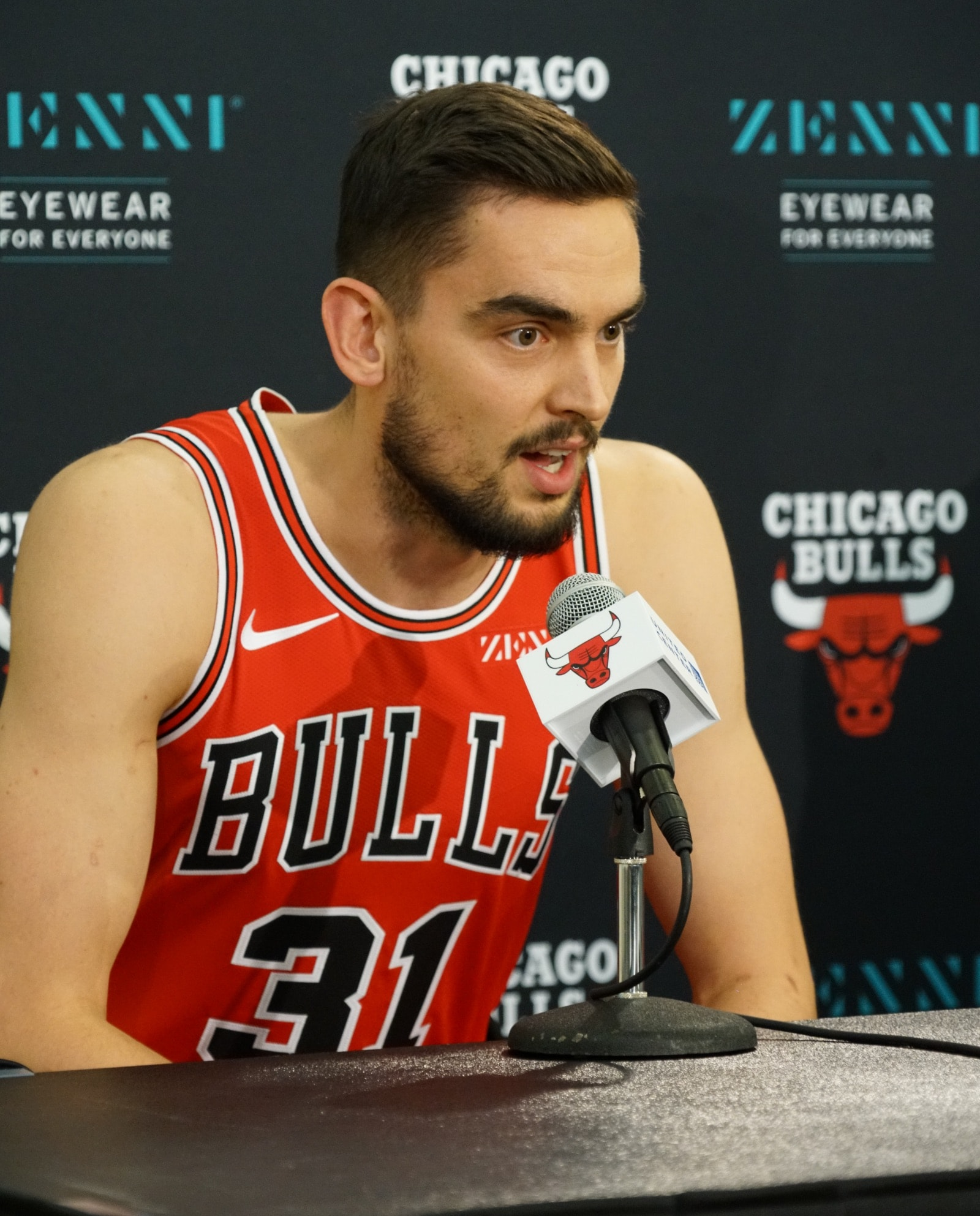 2019 Bulls Media Day: Tomas Satoransky