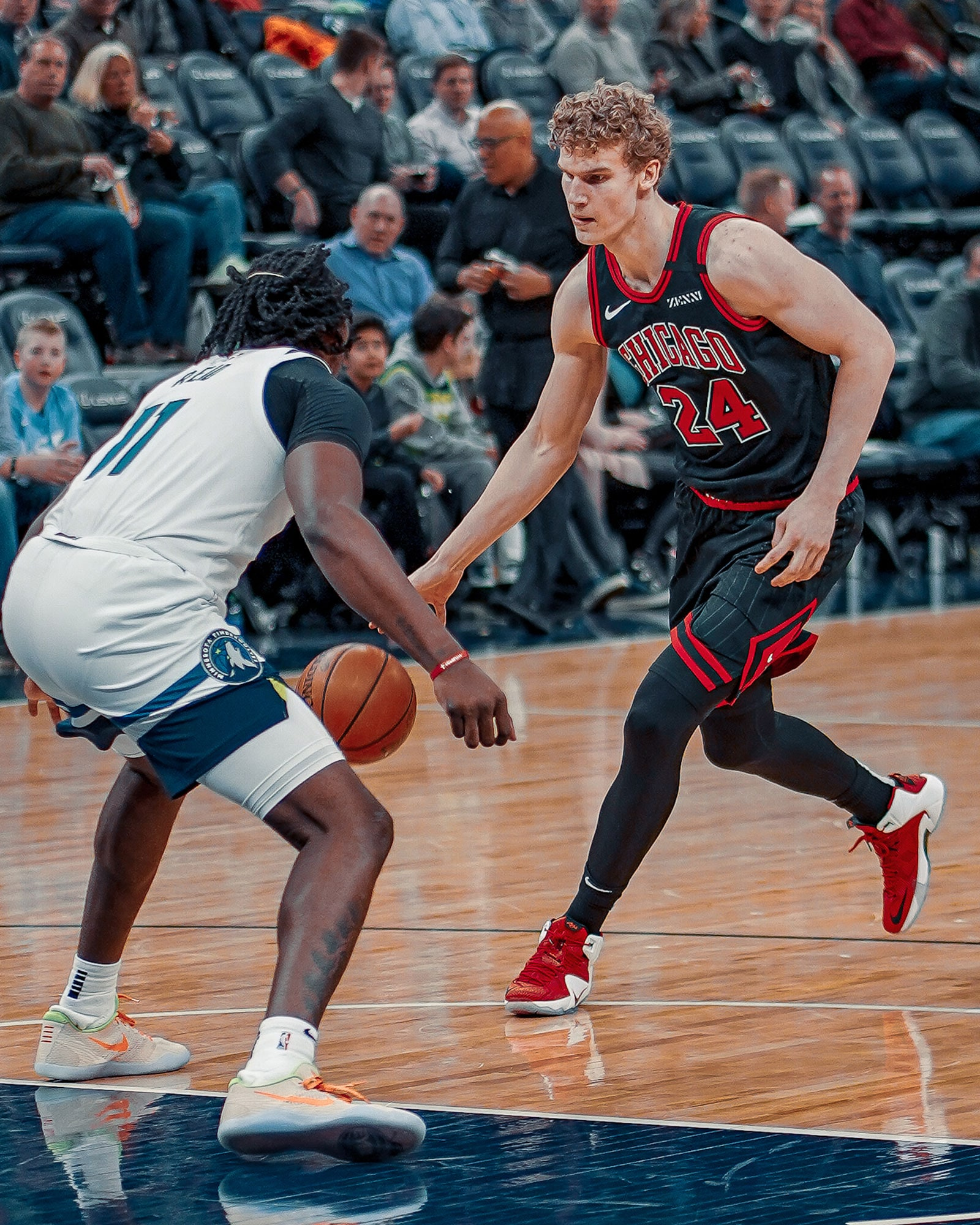 COBY WHITE STAYS HOT AND LAURI MARKKANEN RETURNS BUT BULLS