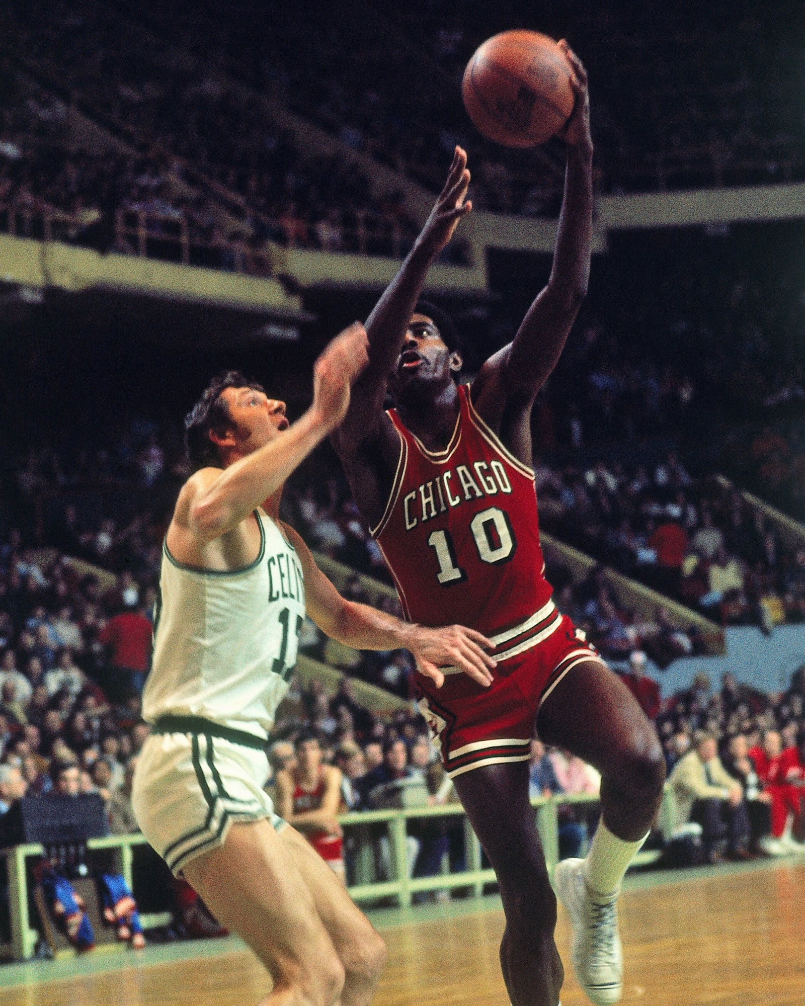 Bob Love of the Chicago Bulls finished the All-Star game with six points and three rebounds off the bench for the West.