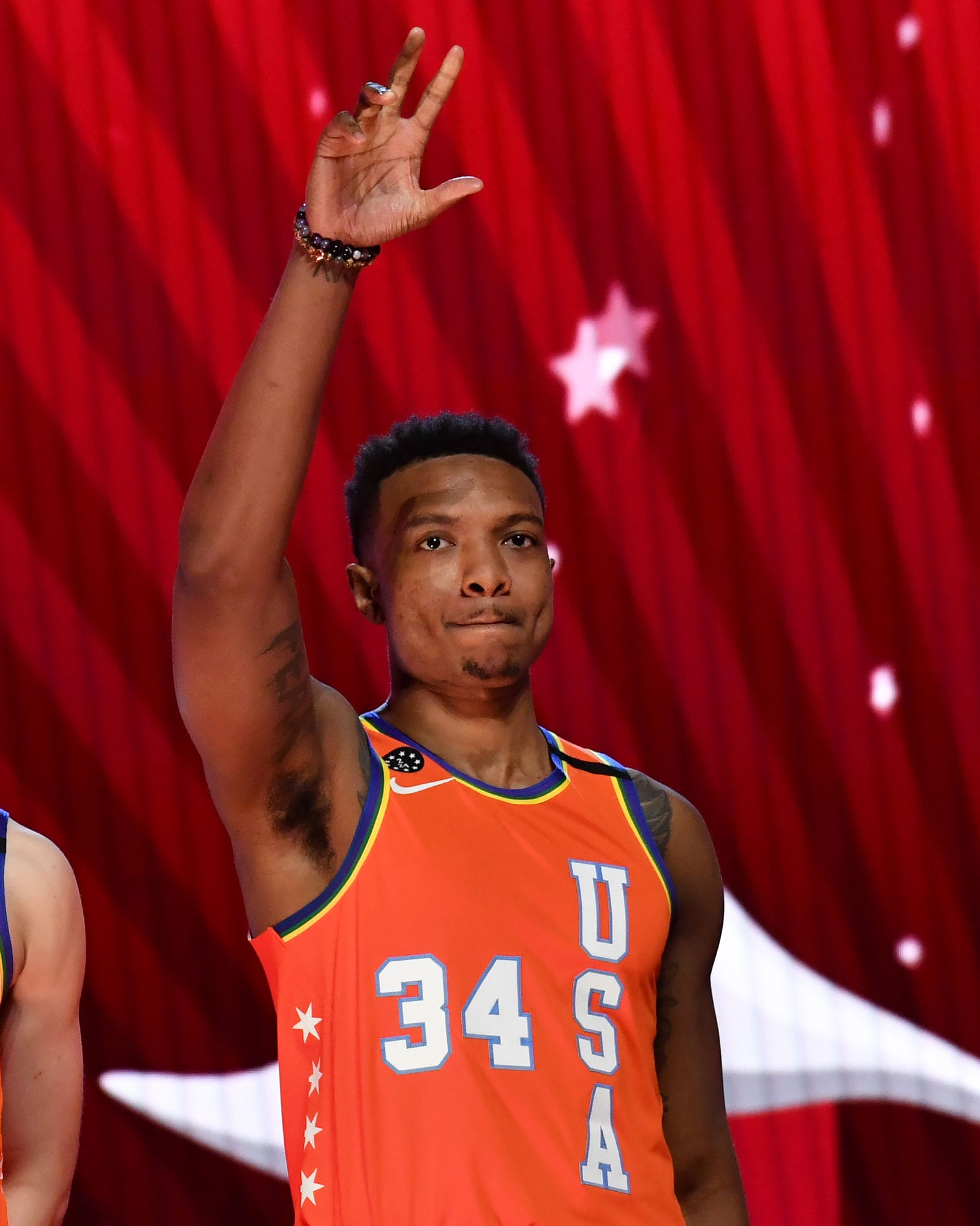 Despite not playing in the Rising Stars game, Wendell Carter Jr. got a warm ovation from the Chicago crowd.