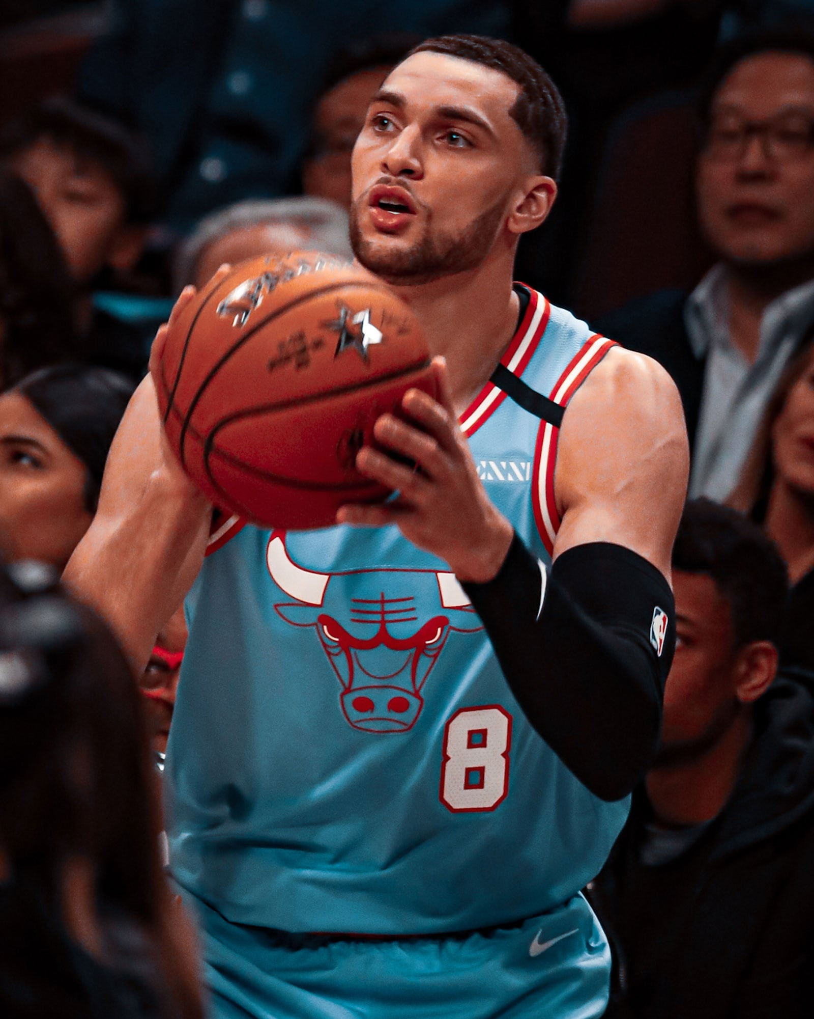 Zach had a hot start in the three-point competition but was unable to advance to the Finals round.