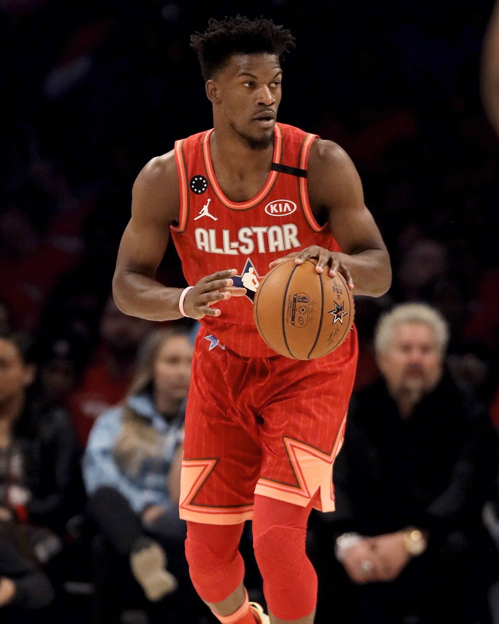 Miami Heat forward and former Bull Jimmy Butler had 4 points off the bench for Team Giannis.