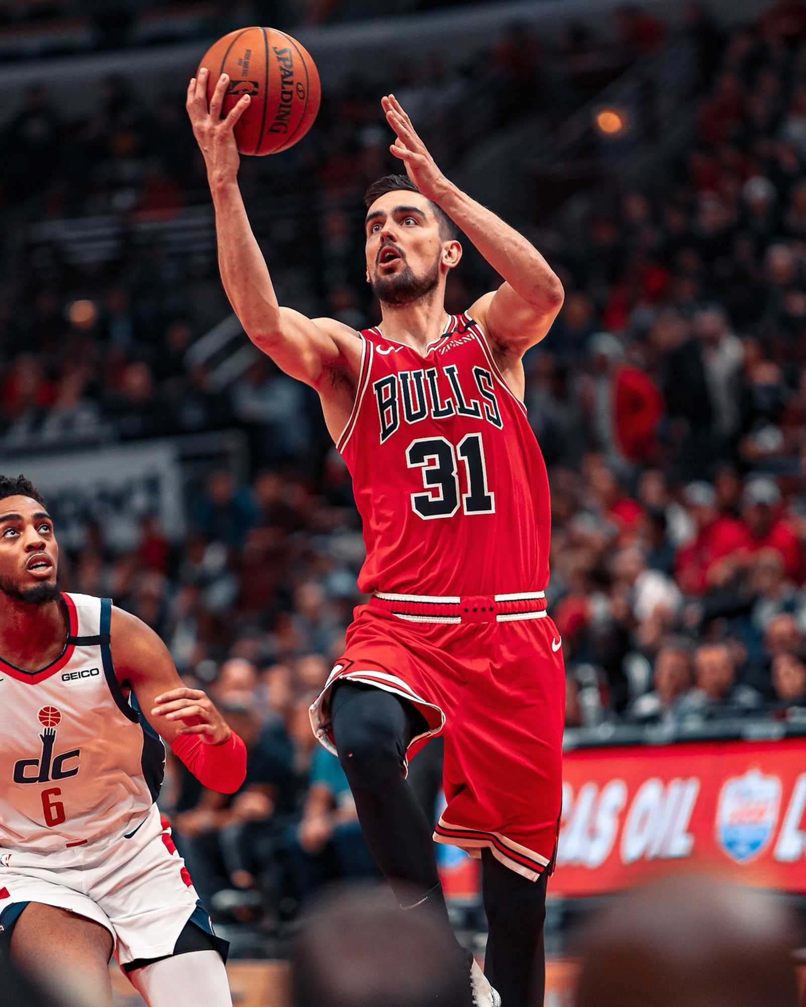 Tomas Satoransky had 15 points and 13 assists against his former team.