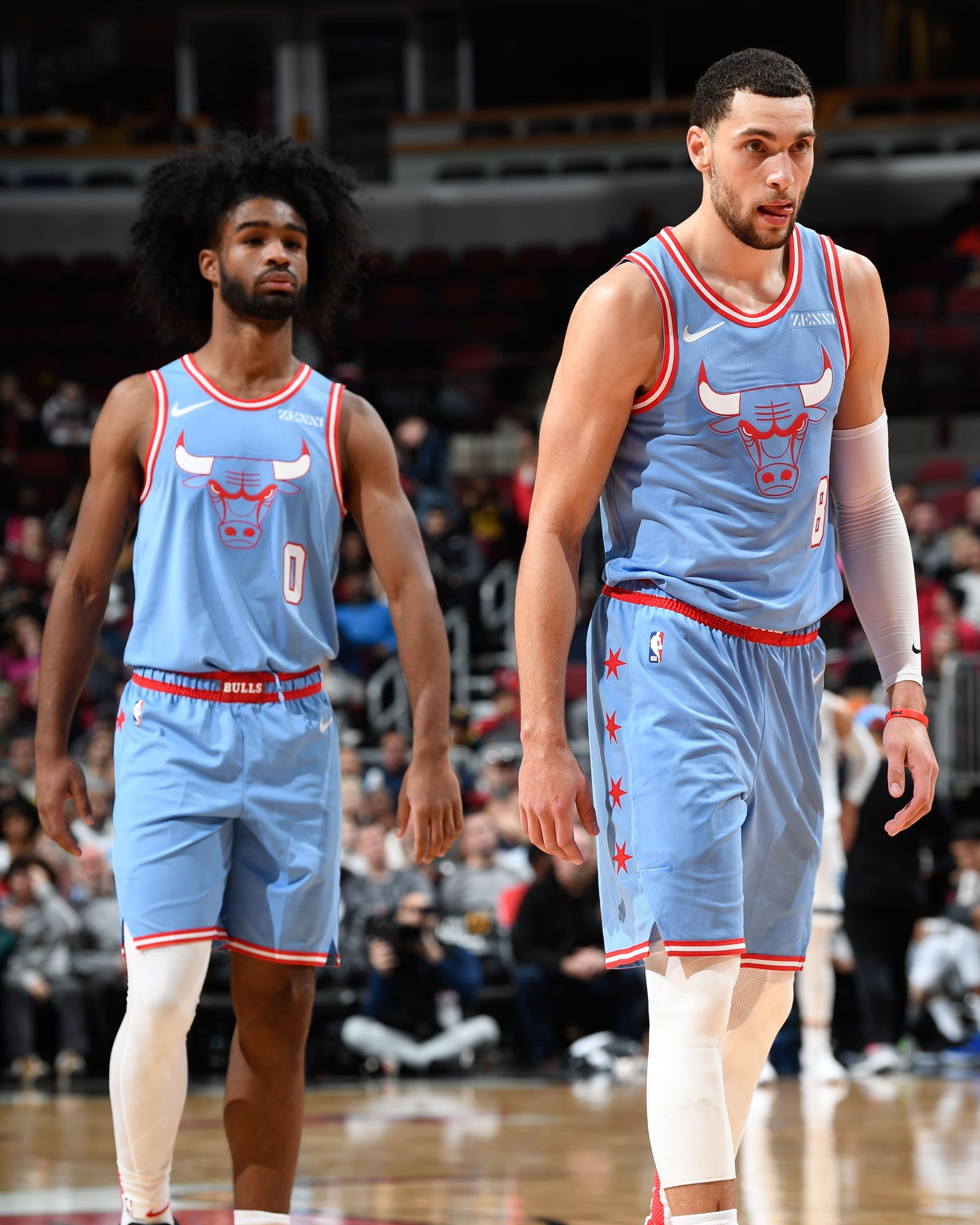 Zach LaVine and Coby White are averaging a combined 56.3 points per game since the All-Star break.