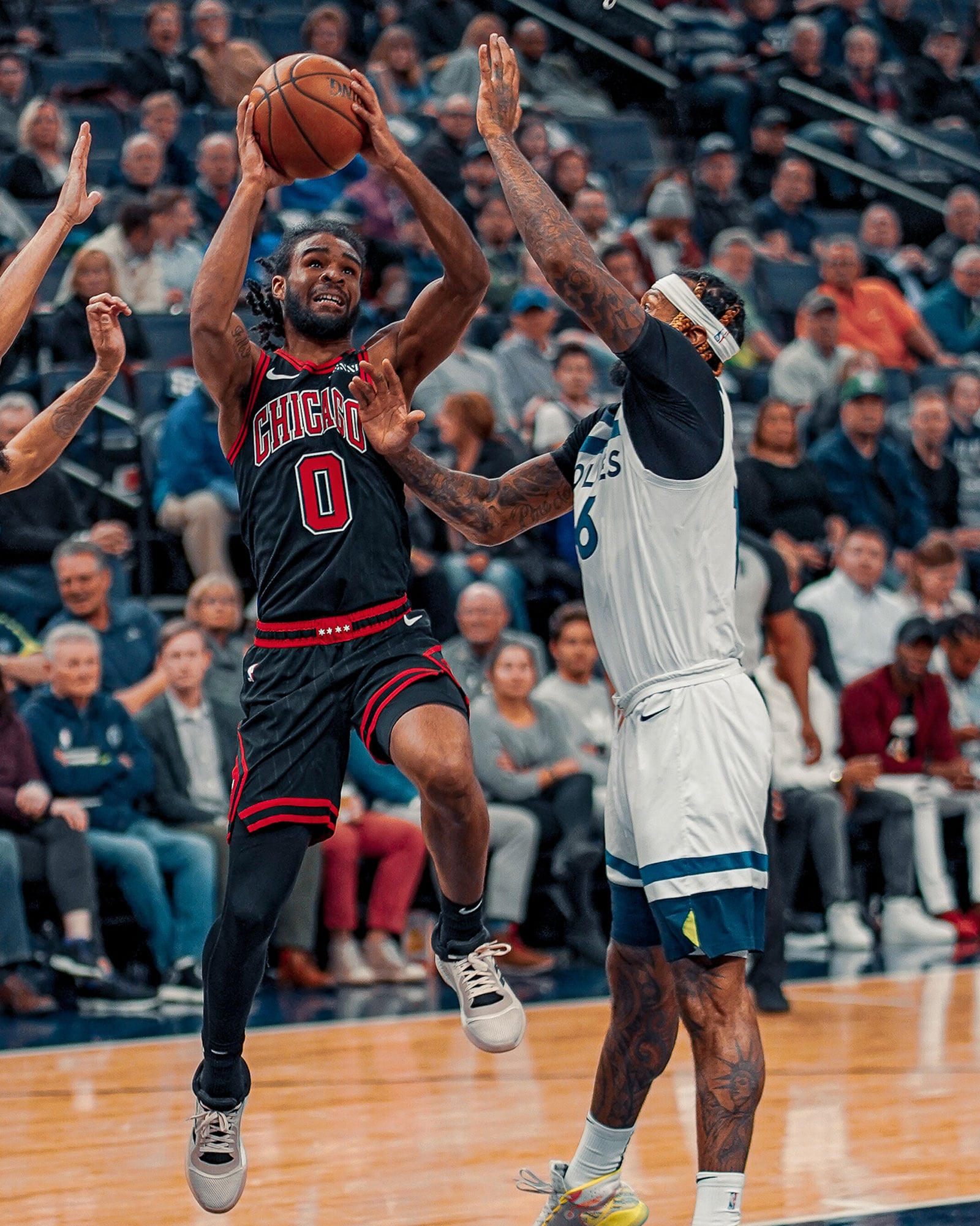 Coby White scored 26 points against the Dallas Mavericks.