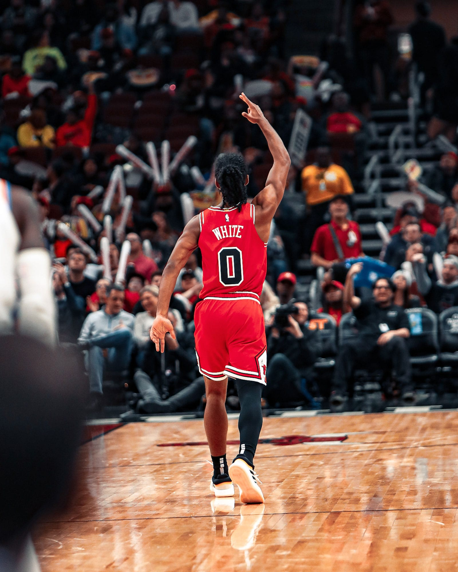 Coby White has made 33 three-pointers since the All-Star break, the most for a rookie..