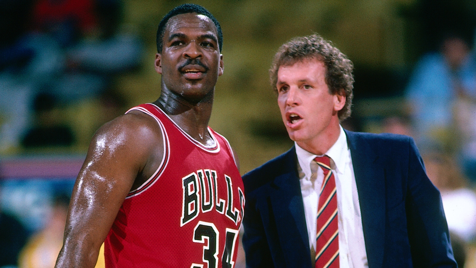 Charles Oakley and Doug Collins.