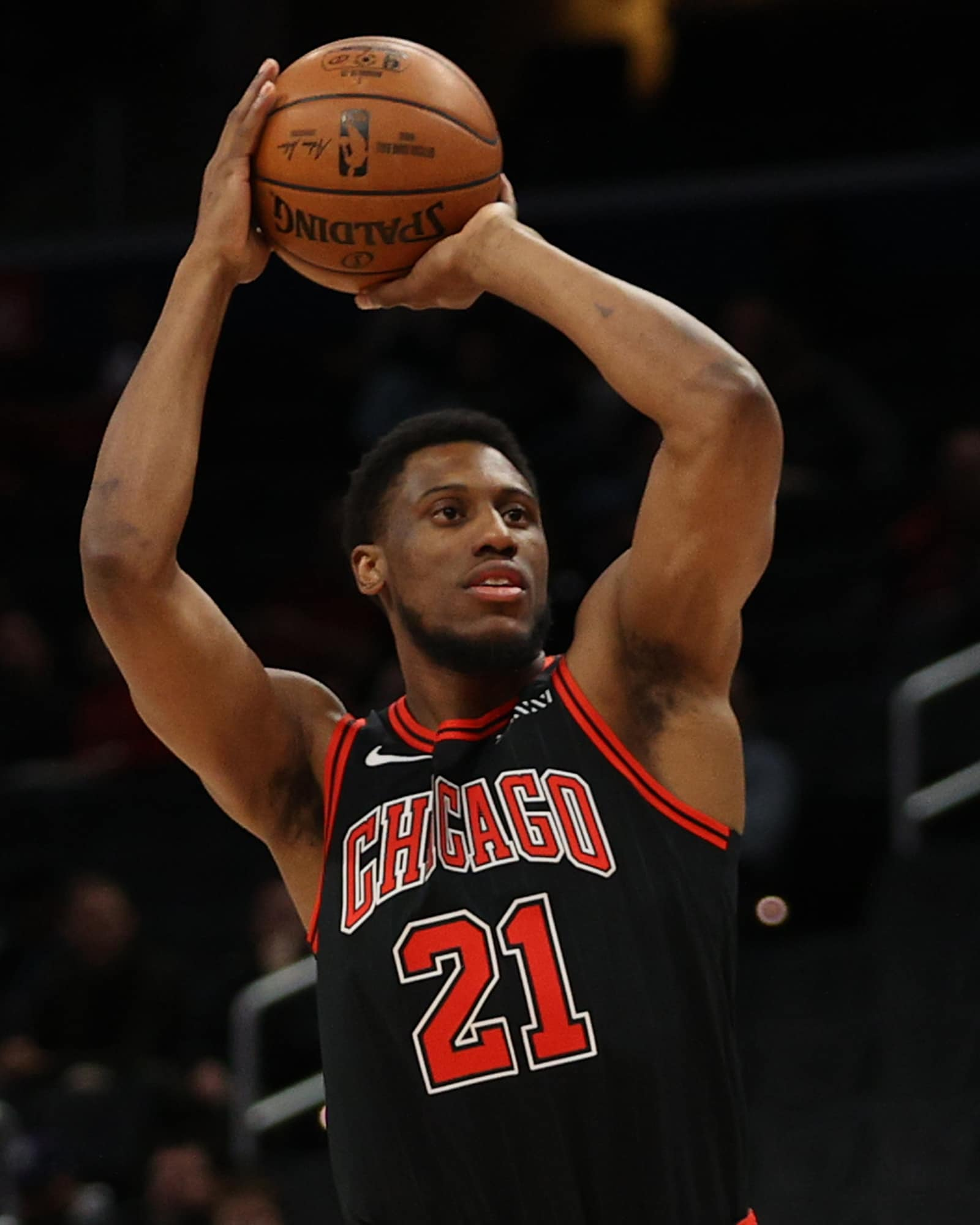 Thad Young finished the season averaging 10.3 points per game.