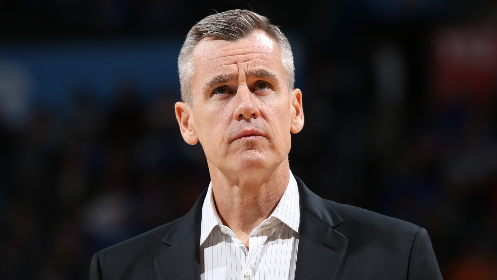 Billy Donovan looks on