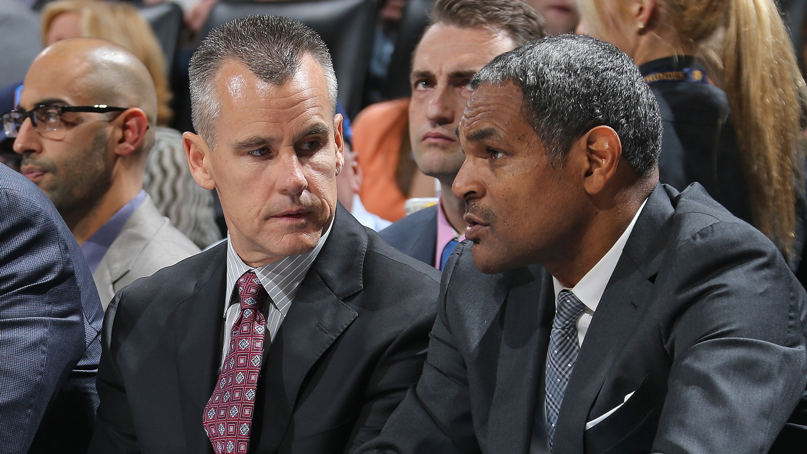 Billy Donovan and Mo Cheeks