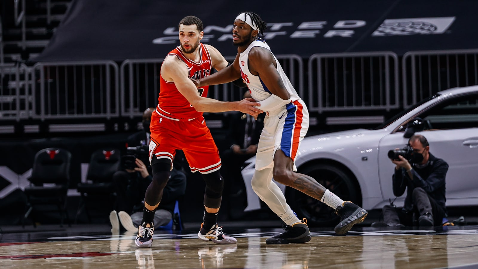 Zach LaVine and Jerami Grant
