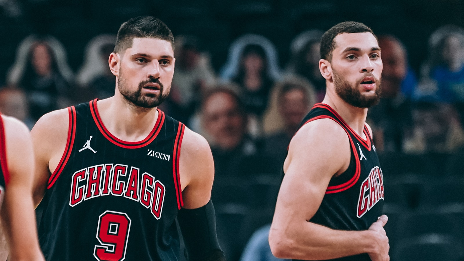 Zach LaVine and Nikola Vucevic