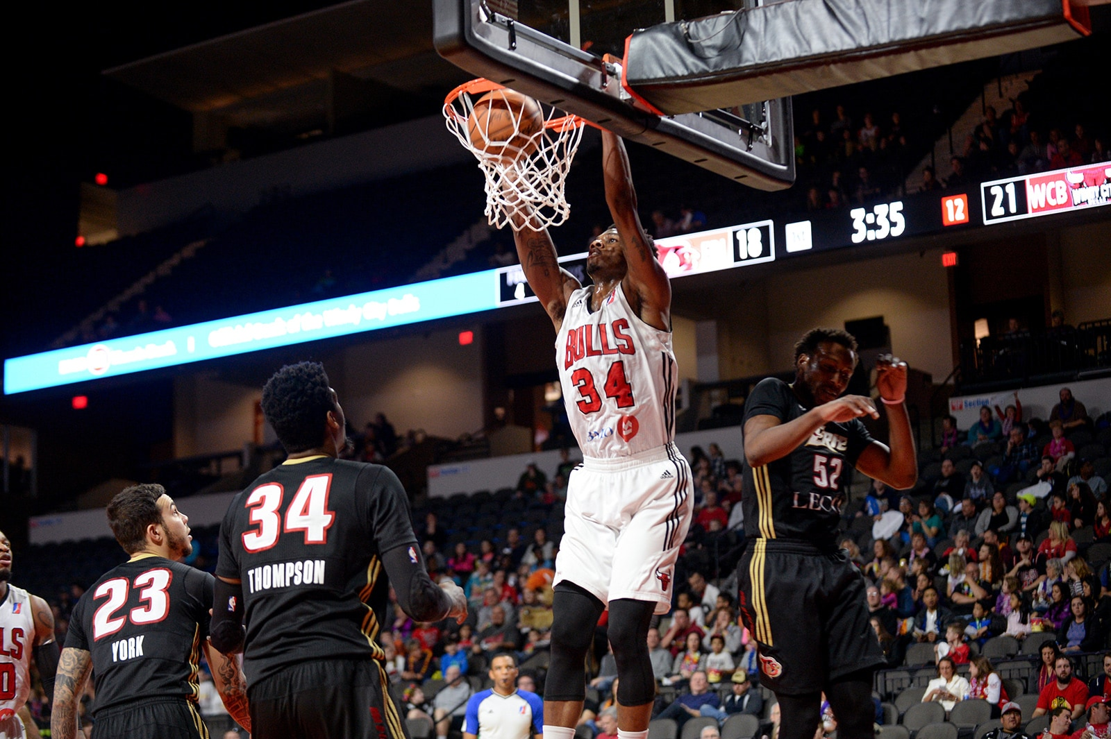 Alfonzo McKinnie Playing for the Windy city Bulls