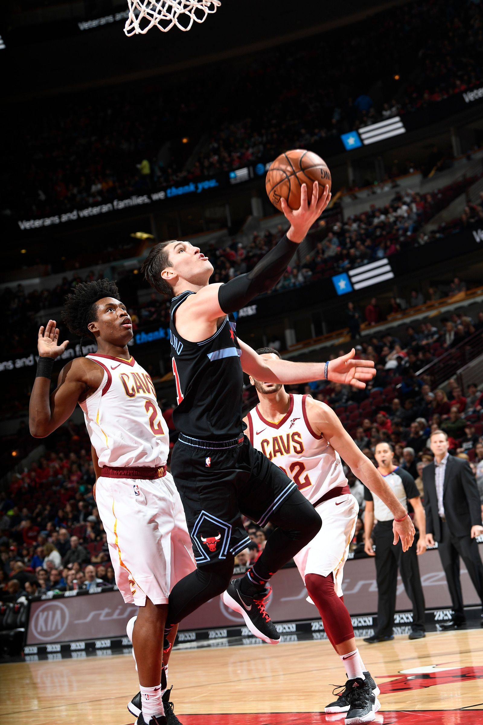 Ryan Arcidiacono of the Chicago Bulls