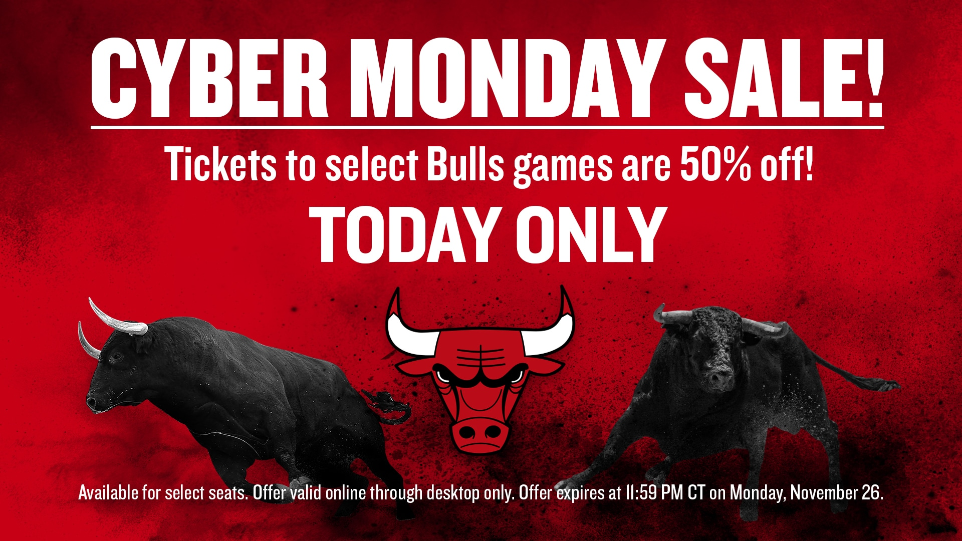 Cyber Monday Ticket Offer