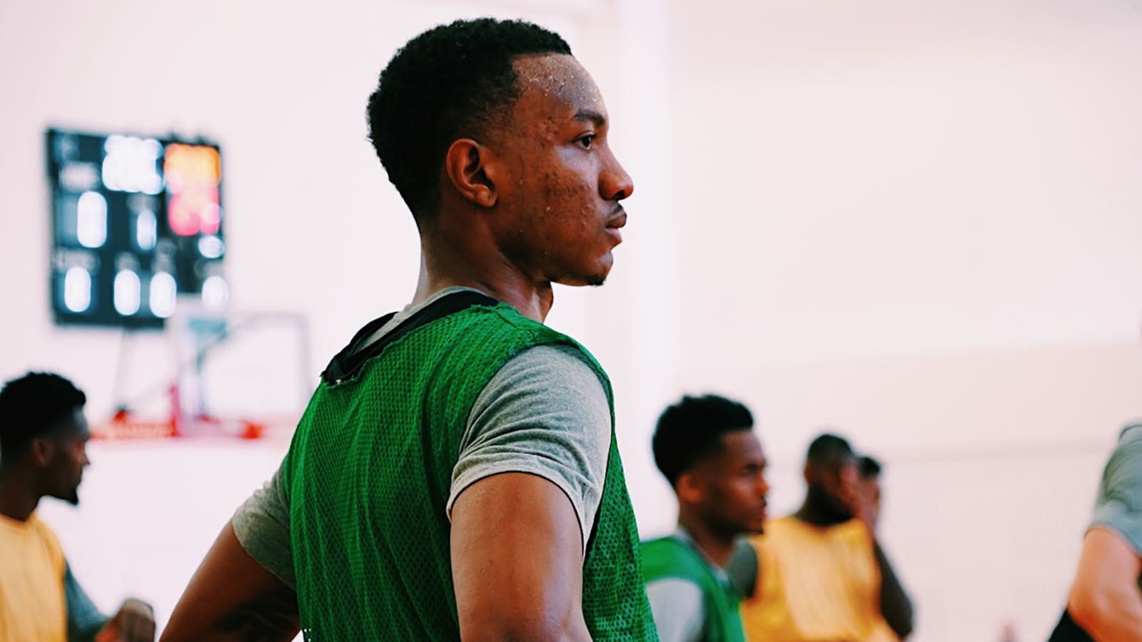 Wendell Carter Jr during Bulls training camp
