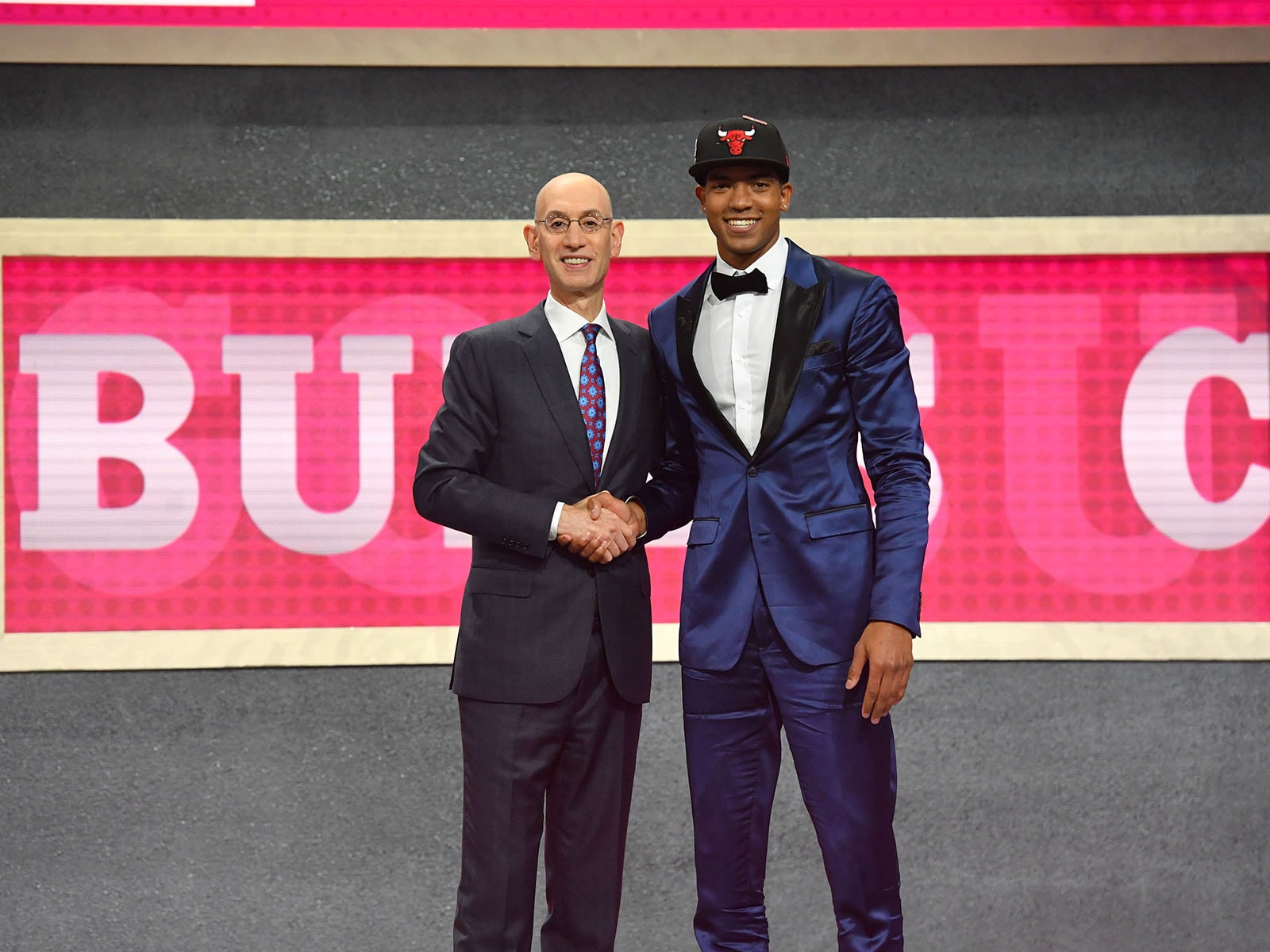 Chandler Hutchison at the 2018 NBA Draft
