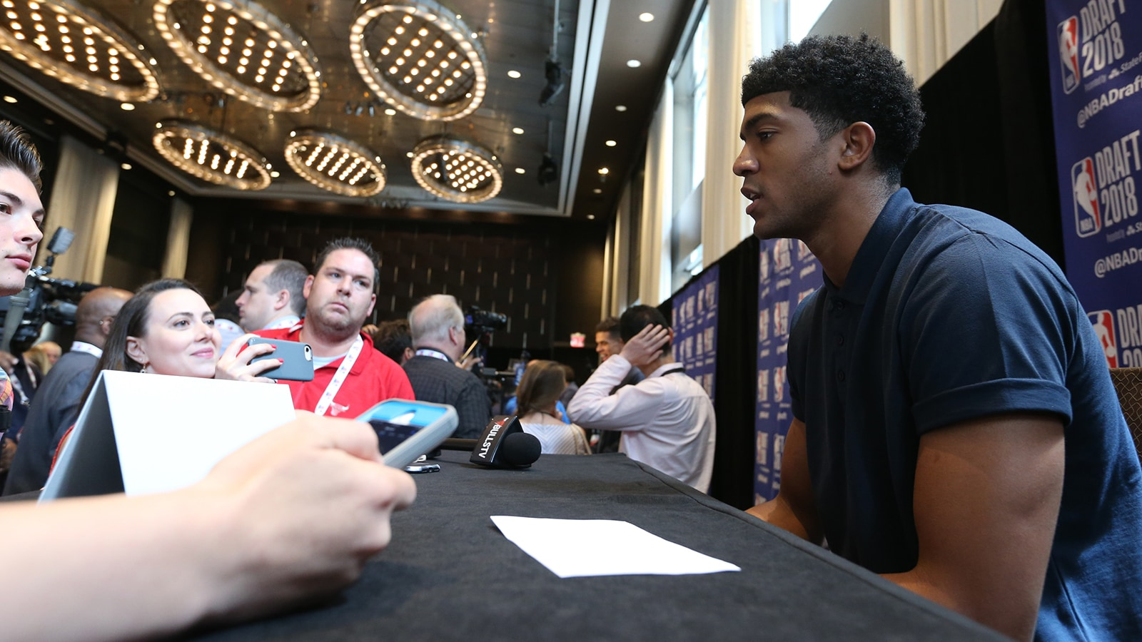 Chandler Hutchison ahead of the 2018 NBA Draft
