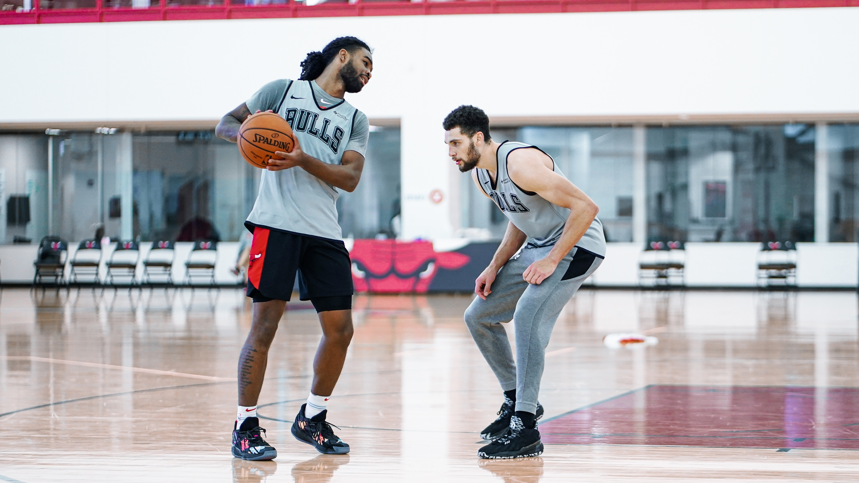 Coby & Zach in Training Camp