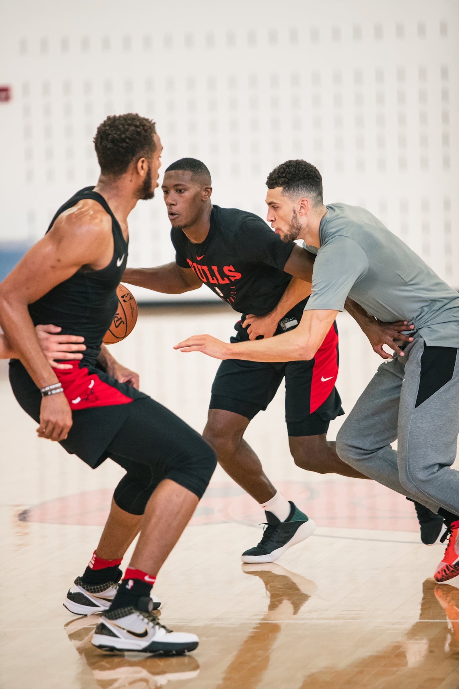 Dunn working out with Lavine and Gafford this offseason