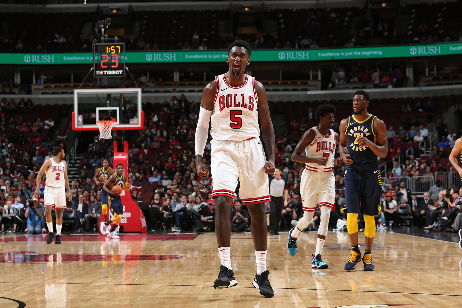 Bobby Portis against the Pacers