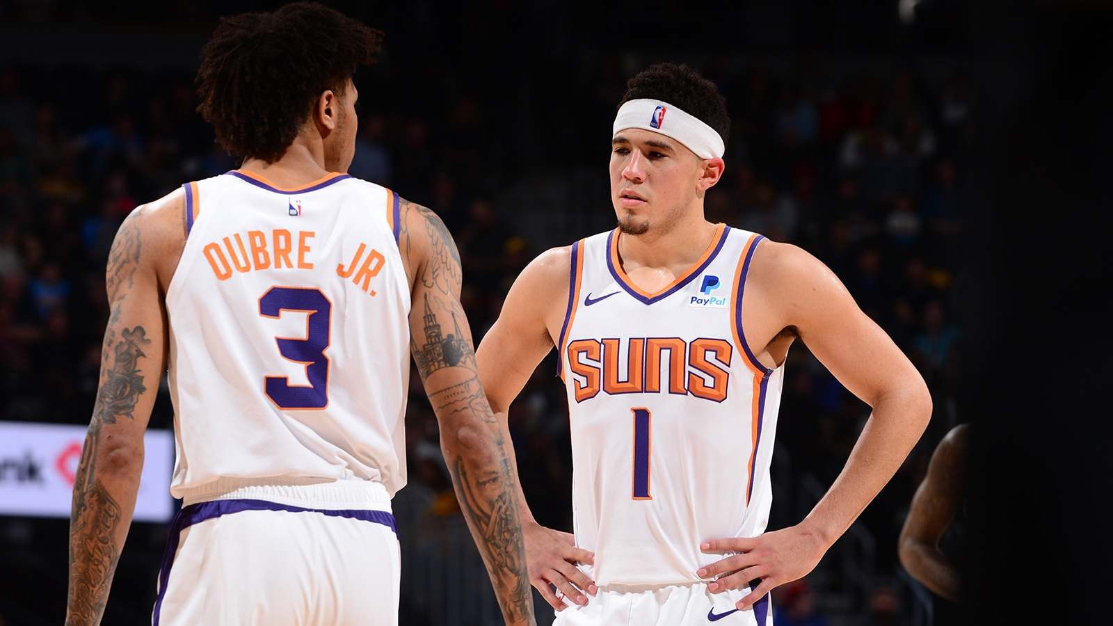 Devin Booker and Kelly Oubre