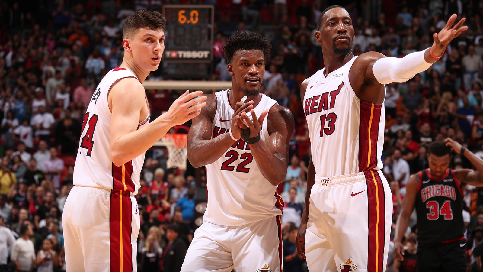 The Miami Heat team