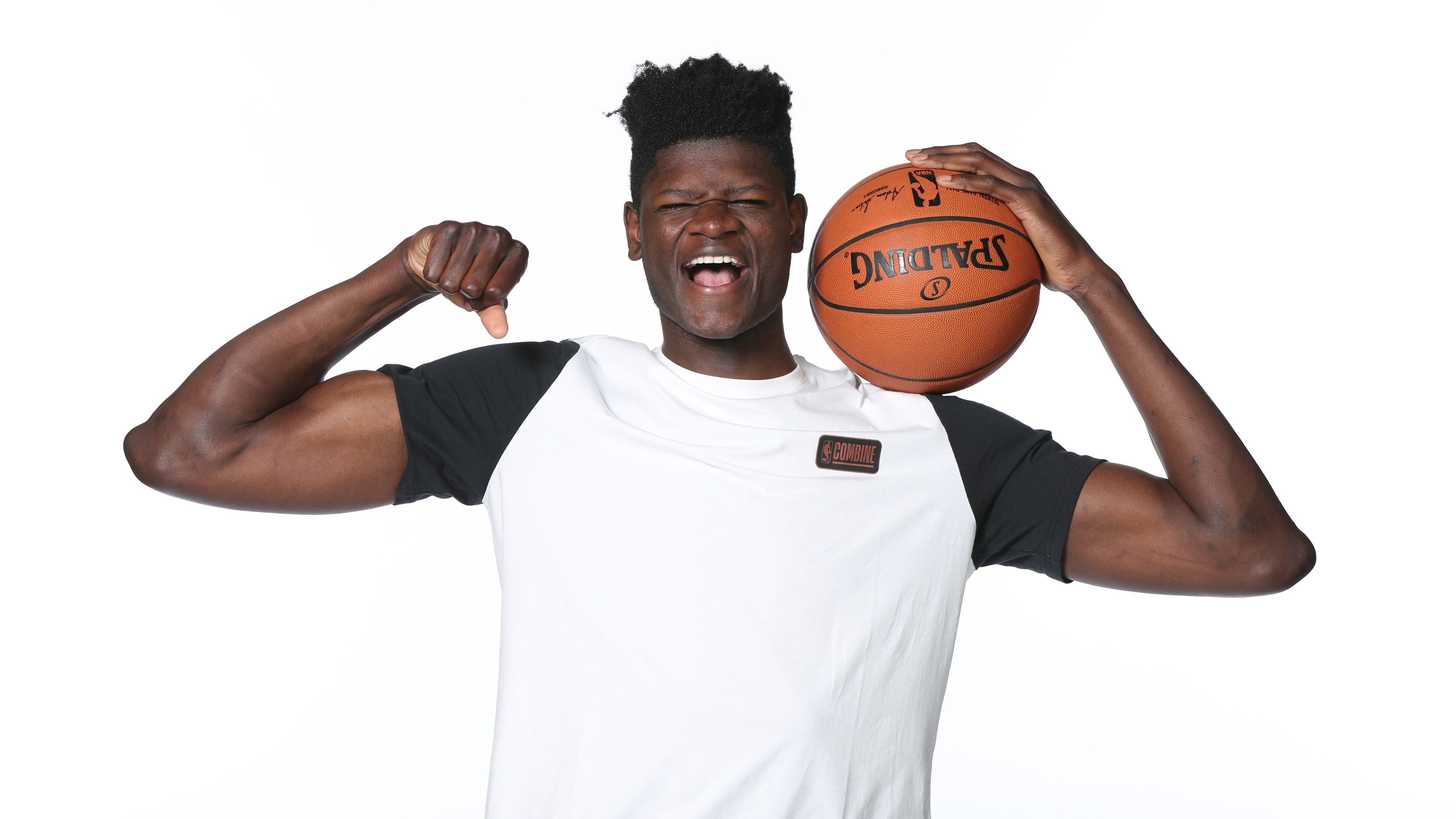 Mohamed Bamba at the 2018 Draft Combine