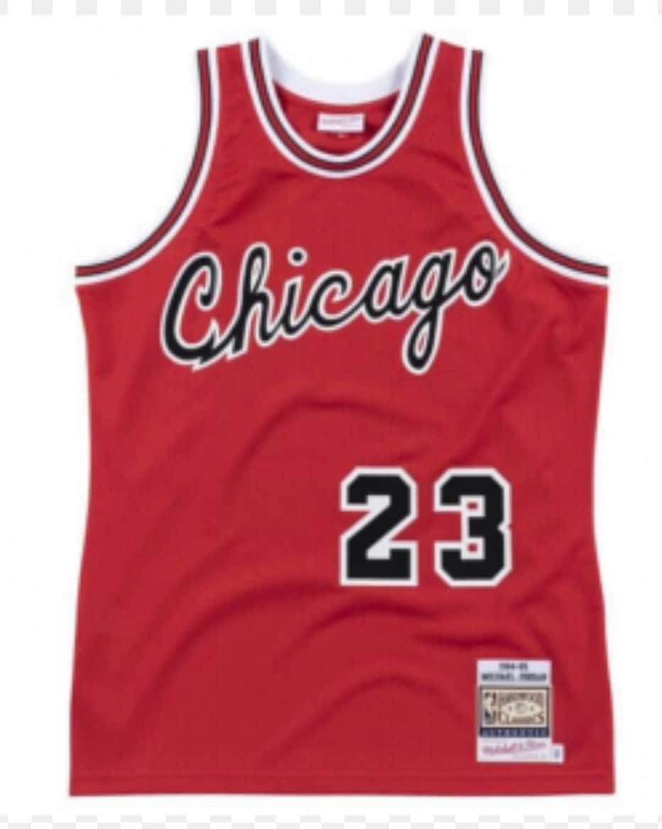Classic Chicago Bulls jersey