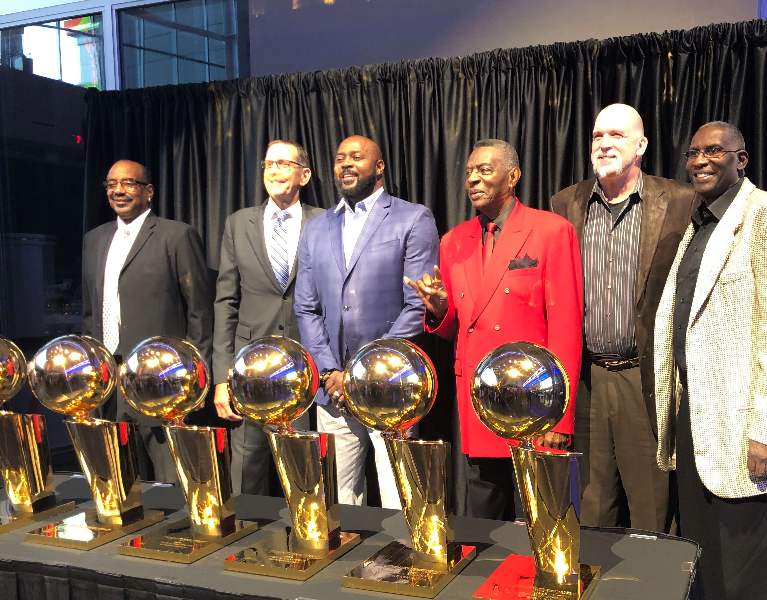 Former Players at the Premium Suite Holders Event in Chicago