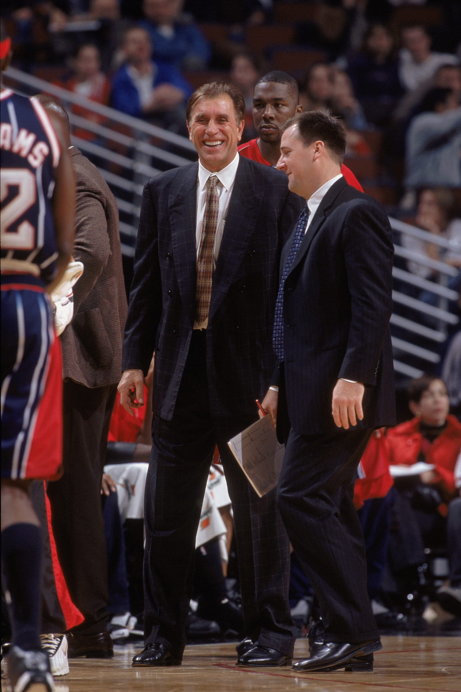 Jim Boylen and Rudy Tomjanovich