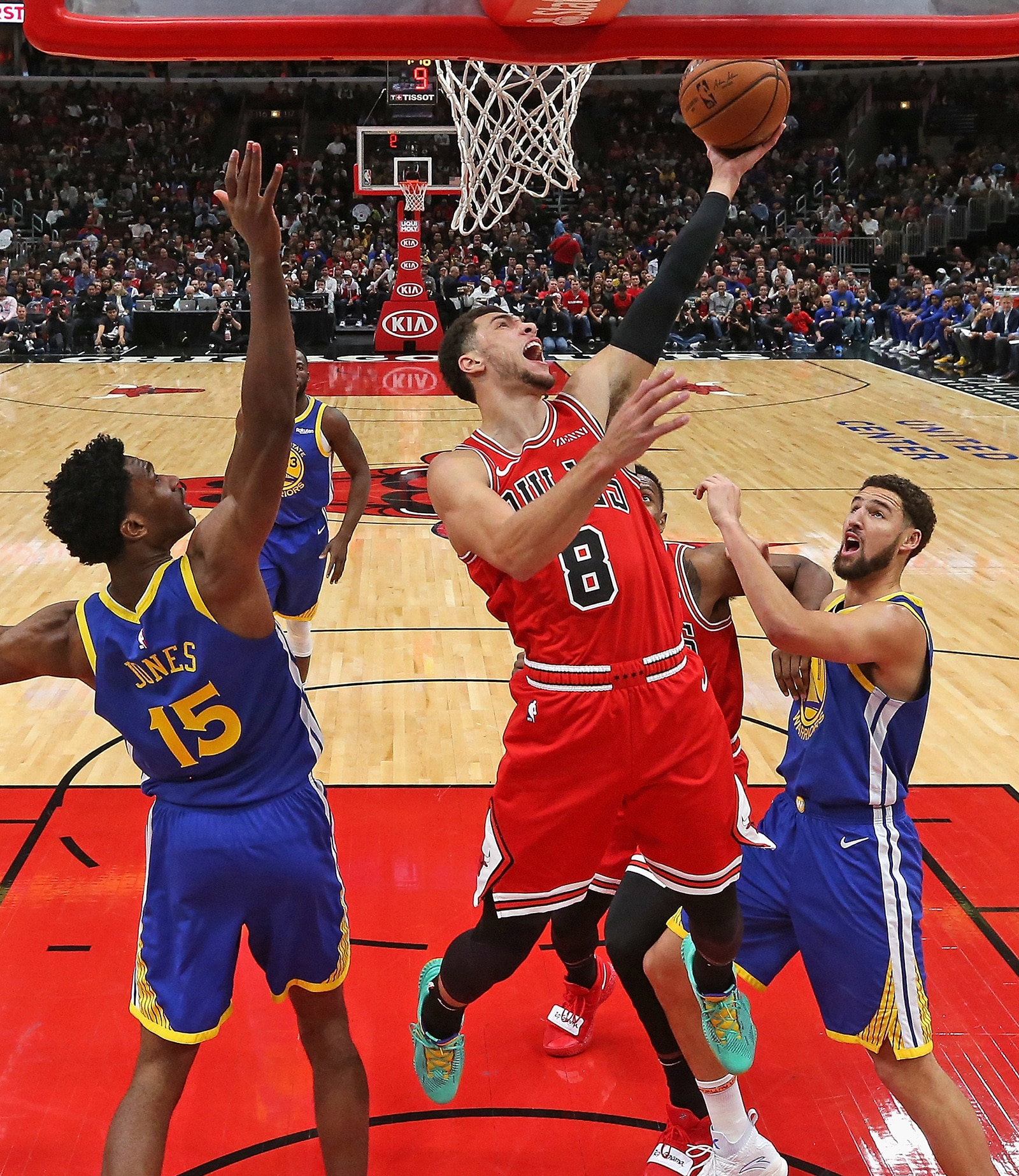 bulls fall 149-124 to star-studded warriors | chicago bulls