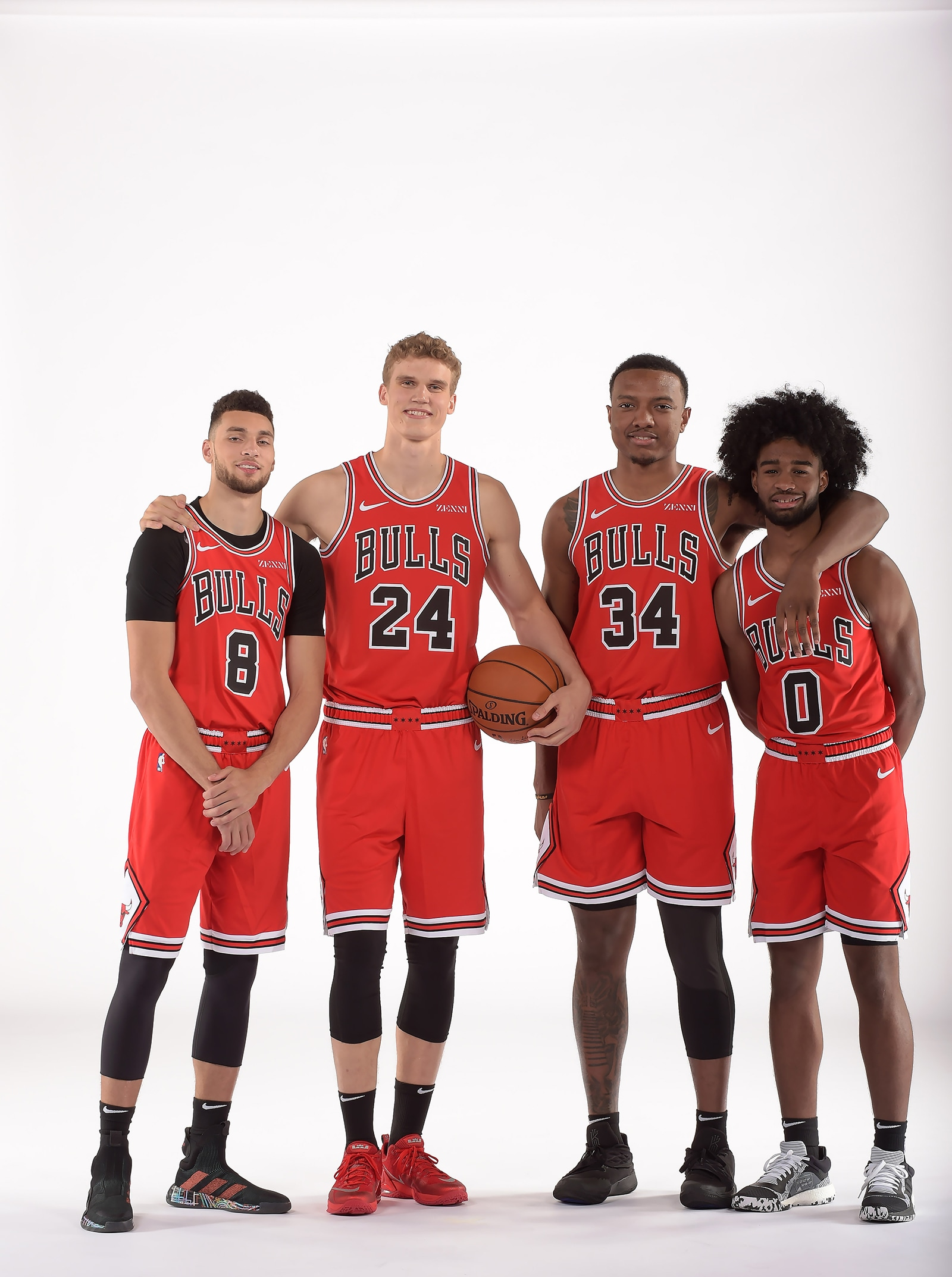 Lauri, Zach, Wendell & Coby on Media Day