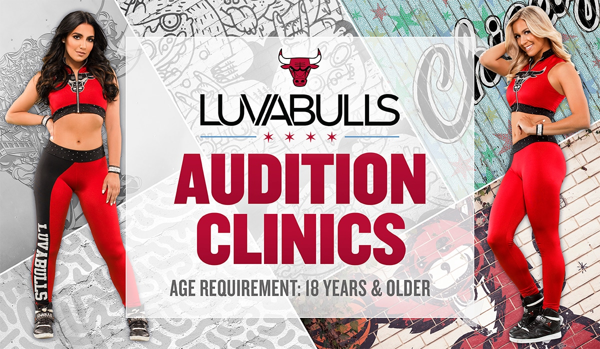 2019-20 Chicago Luvabulls Auditions Clinics