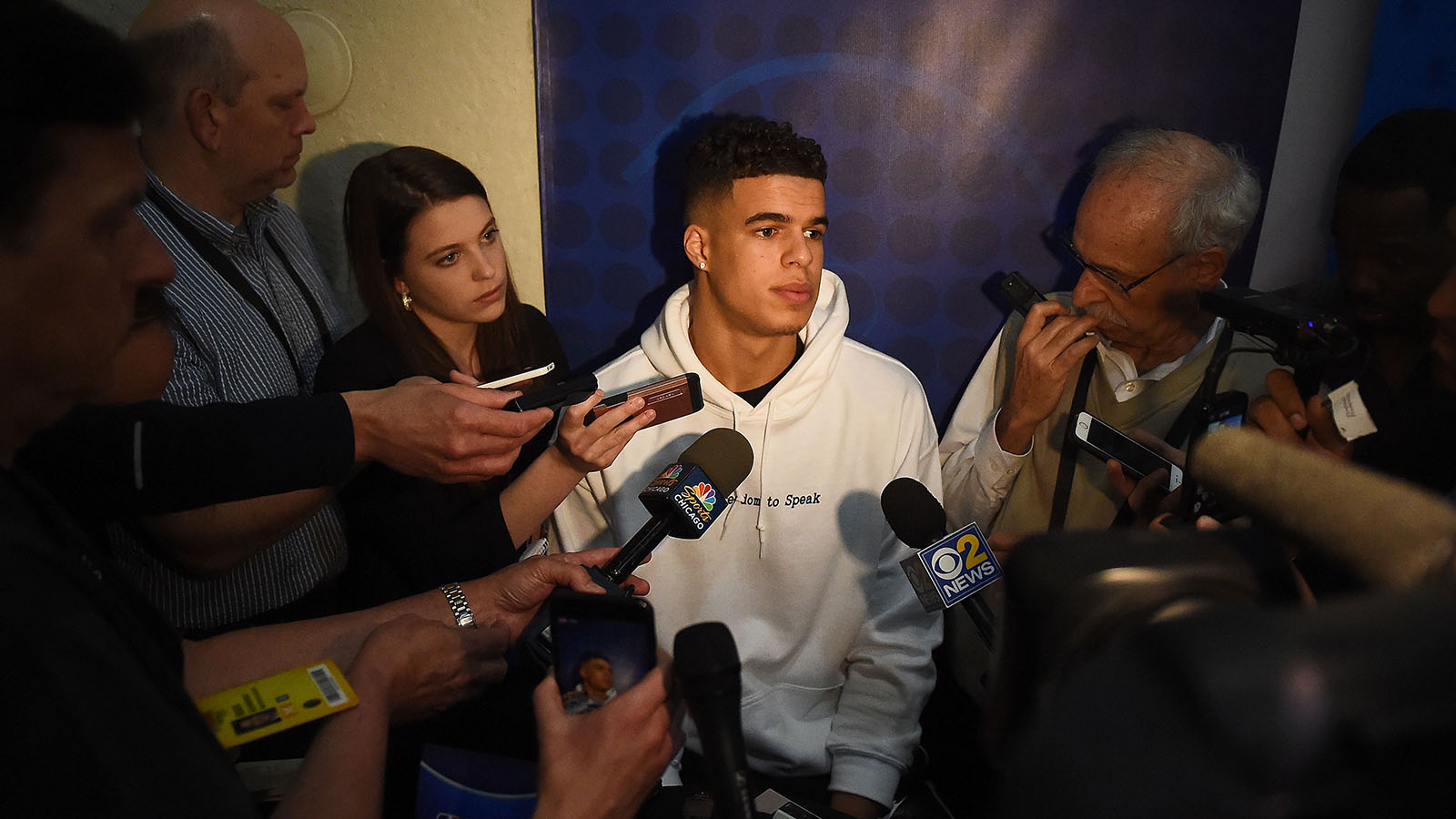 Michael Porter Jr. at the 2018 Draft Combine