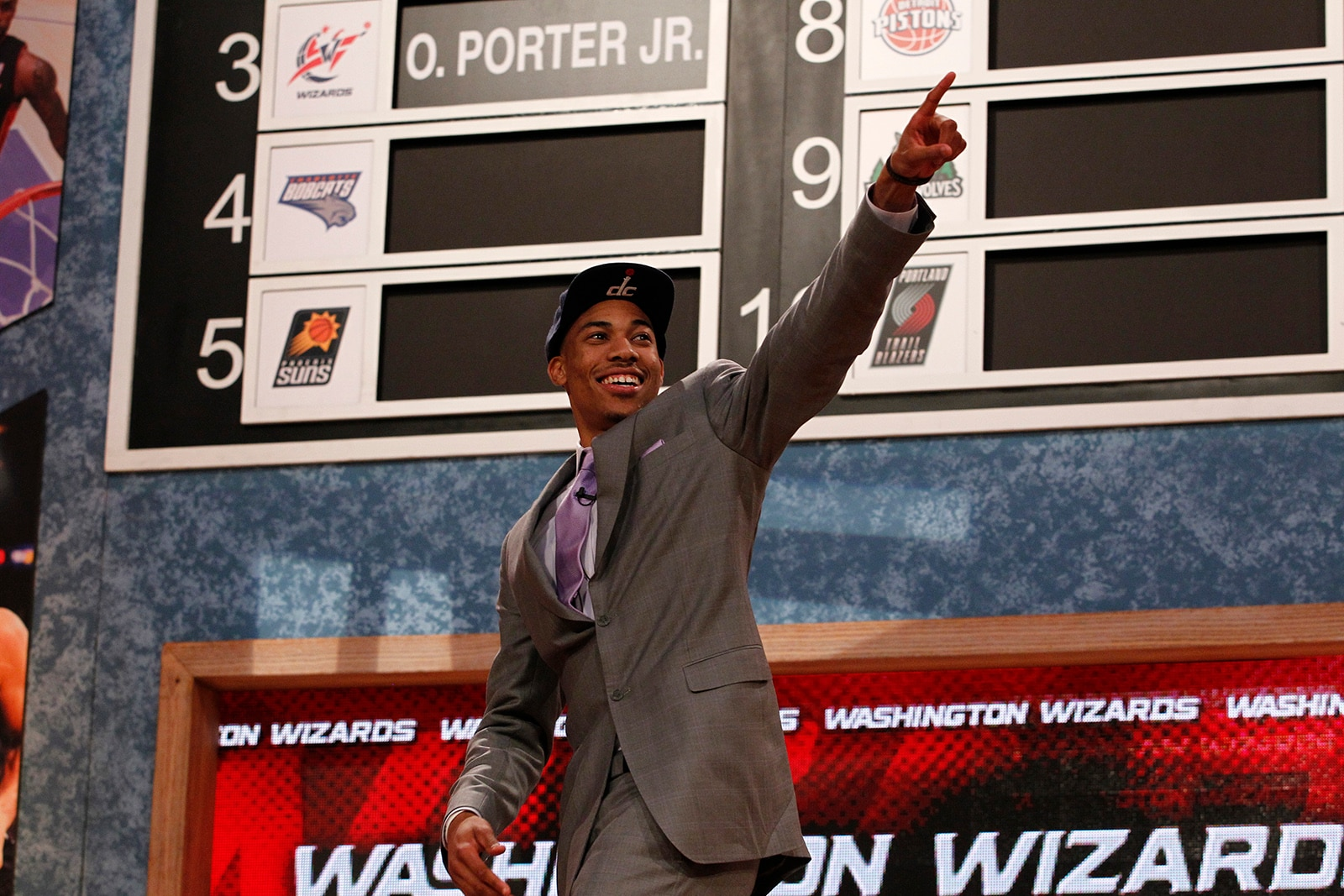 Otto Porter Jr. During the 2013 NBA Draft, where he was selected third by the Washington Wizards
