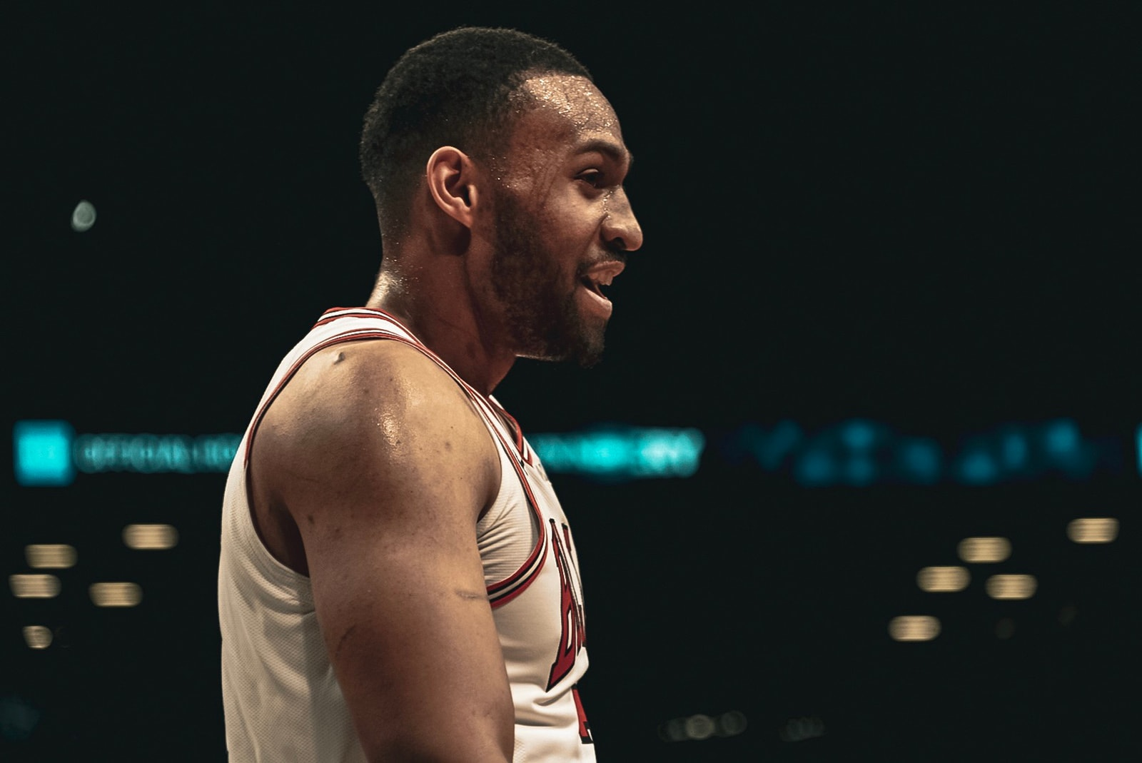 Jabari Parker Playing for the Chicago Bulls