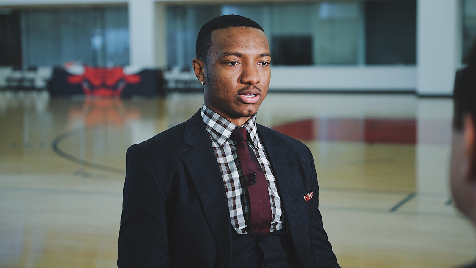 Wendell Carter Jr. at the Advocate Center