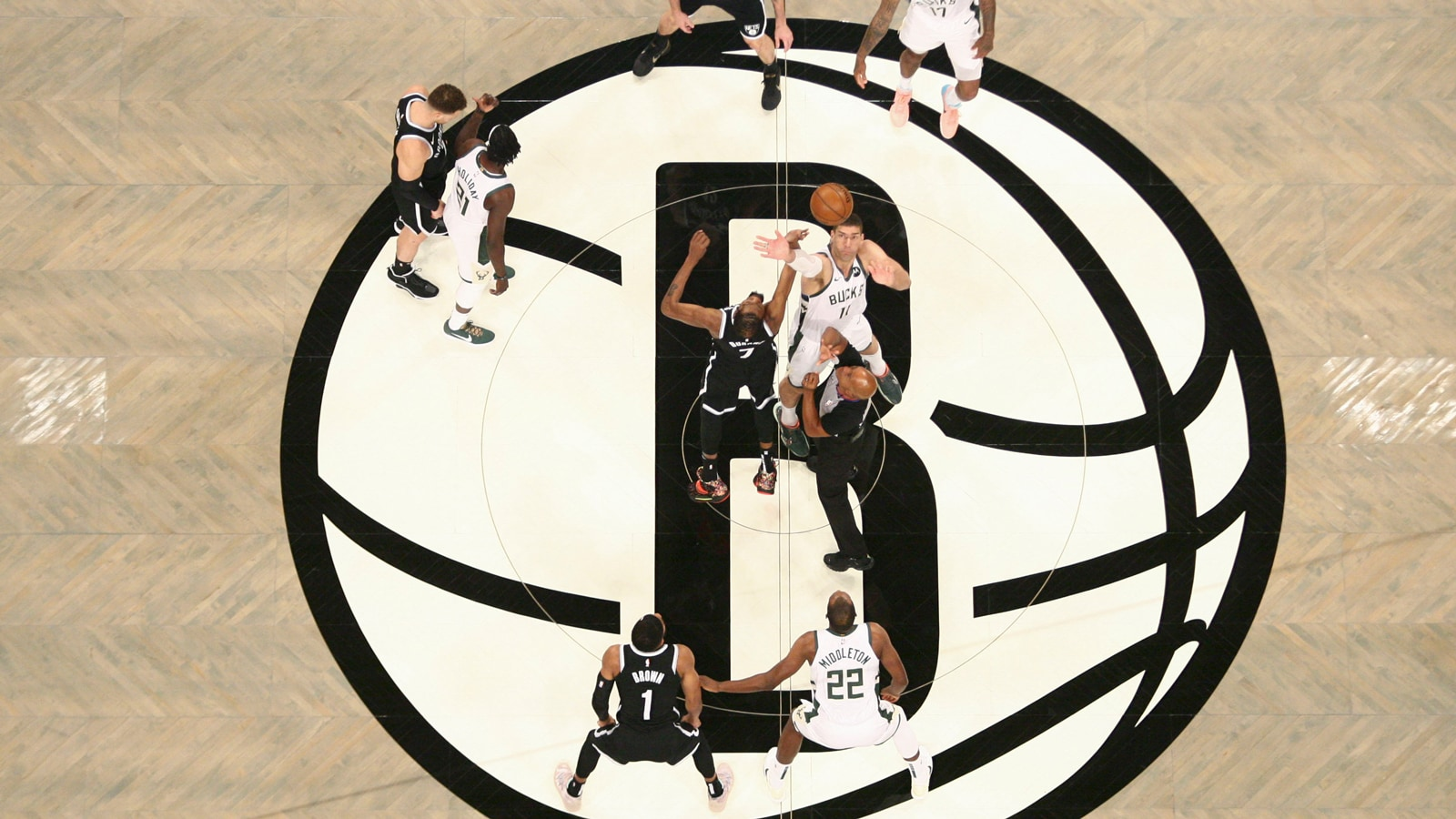 Nets Bucks tipoff, game 7 eastern conference finals