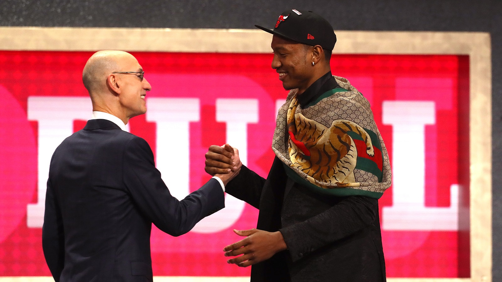 Wendell Carter Jr. at the 2018 NBA Draft