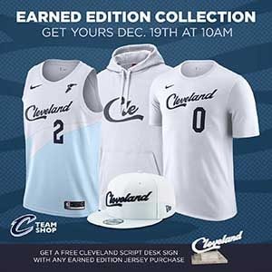 06aba331b The Cavaliers 2018-19 Earned Edition Collection features men s and youth  jerseys (with Goodyear Wingfoot patch)
