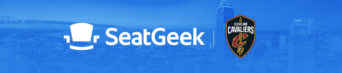 SeatGeek is the Official Ticket Partner of the Cleveland Cavaliers