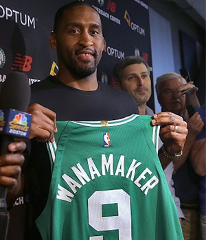 Get To Know Our Rookies.  Five Facts: Wanamaker and Williams 180823wanamaker